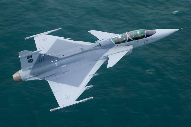 Le Gripen de Saab gagne la guerre des prix